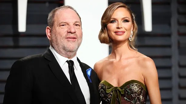89th Academy Awards - Oscars Vanity Fair Party - Beverly Hills, California, U.S. - 26/02/17 – Producer Harvey Weinstein and fashion designer Georgina Chapman. REUTERS/Danny Moloshok - HP1ED2R0QSGOG