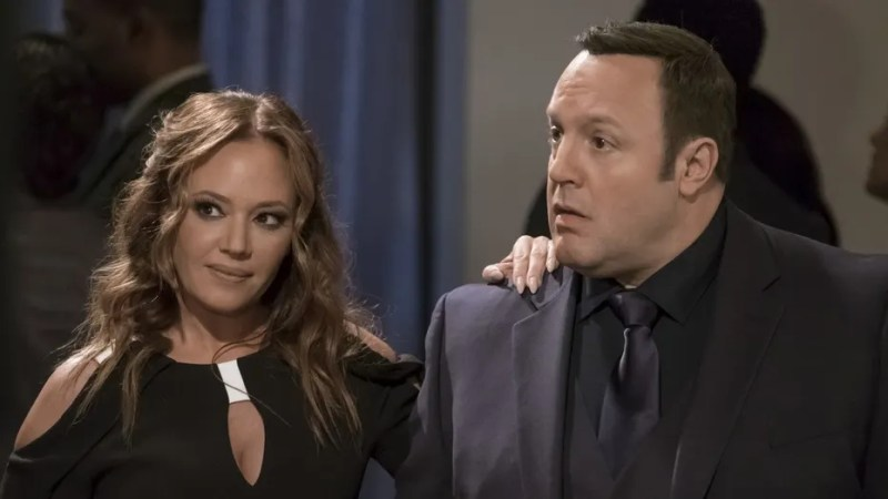 """""""Kevin Can Wait"""" stars Leah Remini and Kevin James."""
