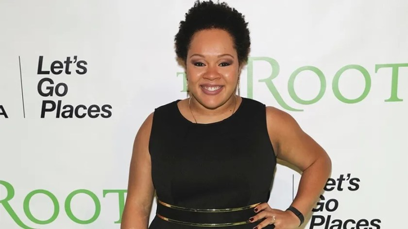 New York Times reporter Yamiche Alcindor attends the Root 100 Gala, honoring influential African-Americans, in New York City, Nov. 9, 2017.