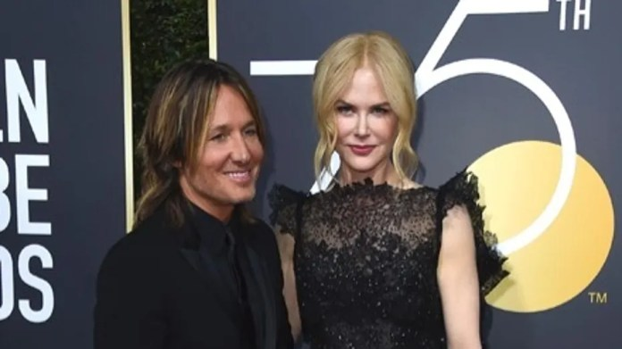Keith Urban, left, and Nicole Kidman arrive at the 75th annual Golden Globe Awards at the Beverly Hilton Hotel on Sunday, Jan. 7, 2018, in Beverly Hills, Calif. (Photo by Jordan Strauss/Invision/AP)