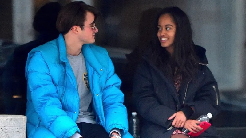 Rory Farquharson, son of a London finance titan, had a date this weekend with his girlfriend, former first daughter Malia Obama, in New York City.
