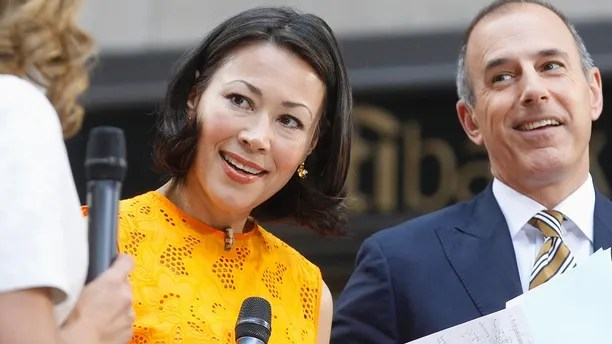 """""""Today"""" show hosts Ann Curry and Matt Lauer appear on set during the show in New York June 22, 2012."""