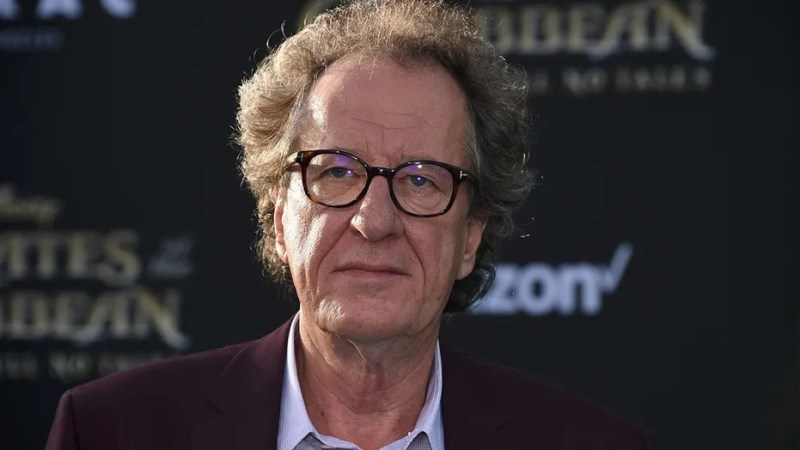 A lawyer in an Australian courtroom accused Oscar winner Geoffrey Rush of touching a woman inappropriately.