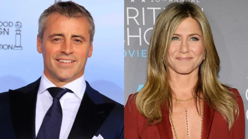 Leblanc Aniston split Reuters
