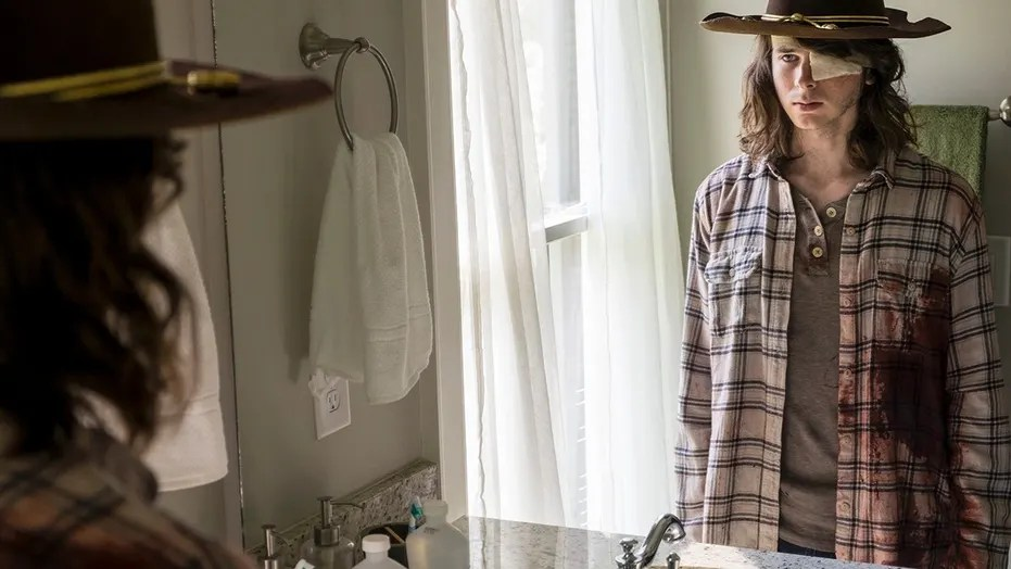 Image result for the walking dead season 8 carl