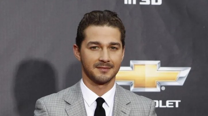 """Shia LaBeouf attends the premiere of his film """"Transformers"""" in Los Angles, June 2011."""