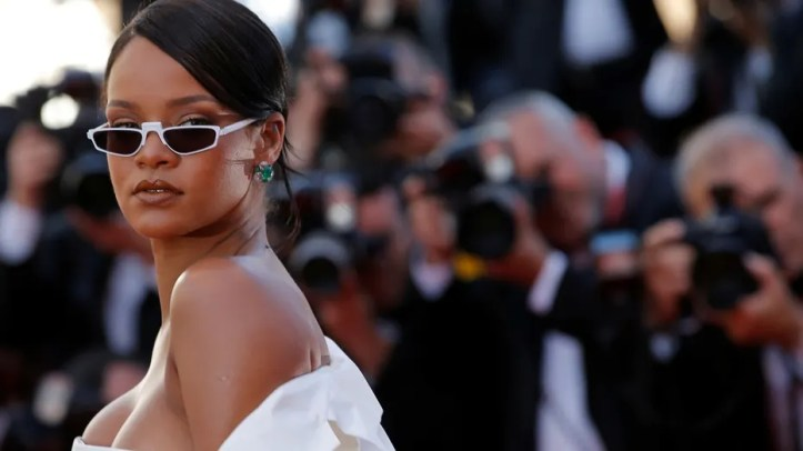 Rihanna at the 70th Cannes Film Festival in Cannes, France, May 2017.