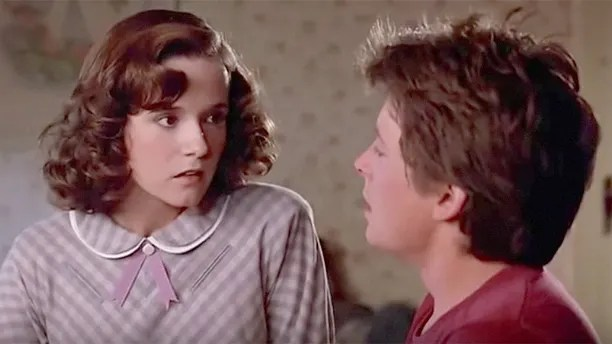 lea thompson Michael J Fox