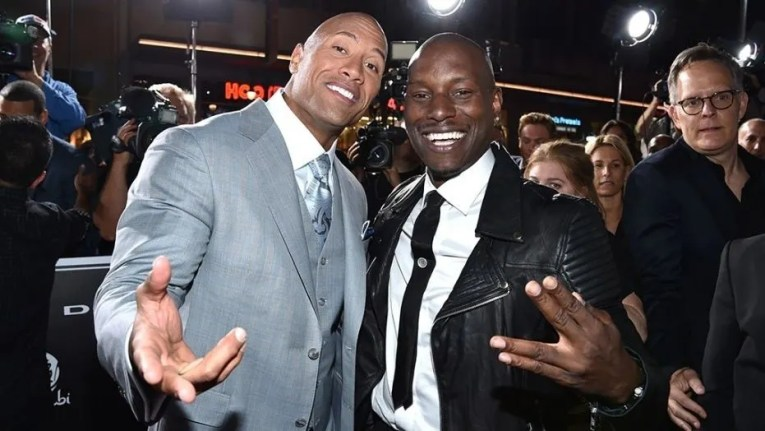 Tyrese Gibson says it was  not professional  to go public with     Tyrese Gibson says it was  not professional  to go public with Dwayne  Johnson feud