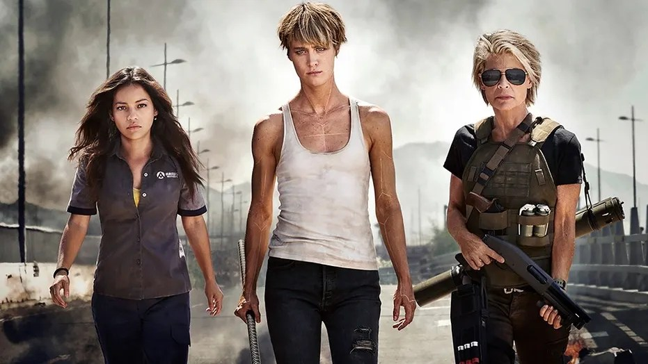 "Paramount released the first official image of the new ""Terminator"" movie on Wednesday."