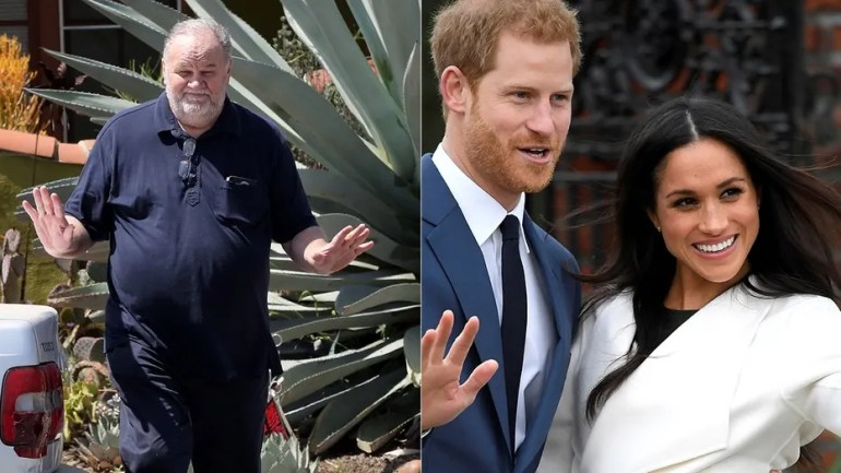 Thomas Markle claims to have hung up on Prince Harry before Meghan's marriage. (Reuters)