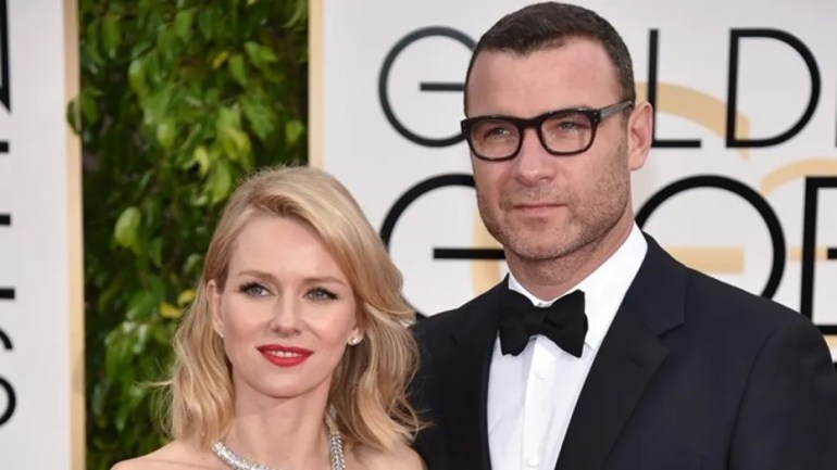 In this photo of the January 11, 2015 file, Liev Schreiber, on the right, and Naomi Watts arrive at the 72nd annual Golden Globe Awards in Beverly Hills, California.