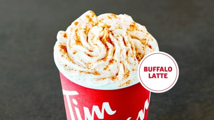 Tim Hortons is launching a spicy new drink to honor Buffalo sauce and Tim Hortons' birthdays.