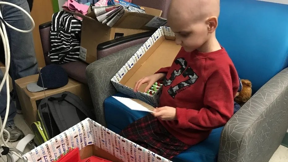 Terminally Ill Boy With Wish For Christmas Cards Receives