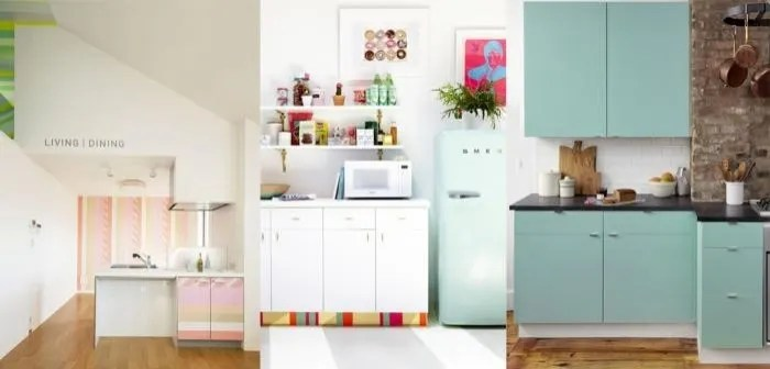 Customize Kitchen Cabinets With Colored Contact Paper Fox News