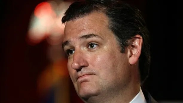 "U.S. Sen. Ted Cruz, R-Texas, pauses as he delivers a speech to 2014 Red State Gathering attendees, Friday, Aug. 8, 2014, in Fort Worth, Texas. Possible presidential candidate Cruz predicts Republicans will retake the Senate this year and that ""2016 will be even better."" (AP Photo/Tony Gutierrez)"