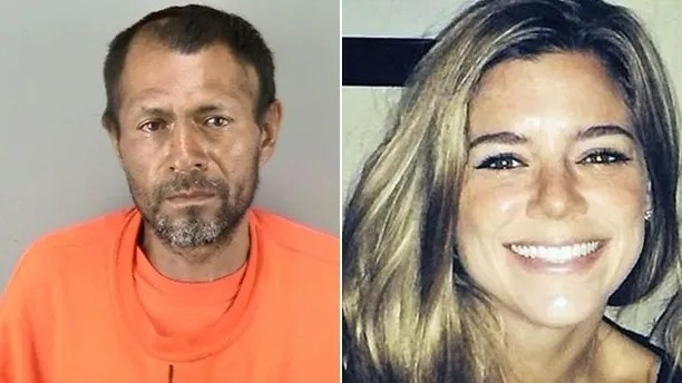 San Francisco shooting suspect Francisco Sanchez and victim Kathryn Steinle are shown in this composite photo.