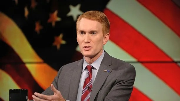 Congressman James Lankford (R) participates in the U.S. Senate debate in Tulsa, Oklahoma, June 18, 2014. REUTERS/Nick Oxford (UNITED STATES - Tags: POLITICS) - RTR3UJXM