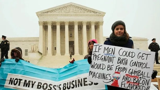 Image result for Trump rolls back Obamacare birth control mandate
