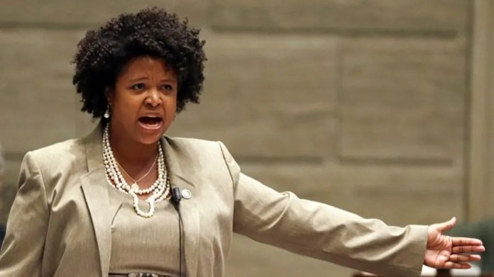 Missouri state Sen. Maria Chappelle-Nadal was censured earlier this year over a Facebook post calling for Trump's assassination