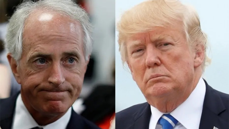 Image result for bob corker trump