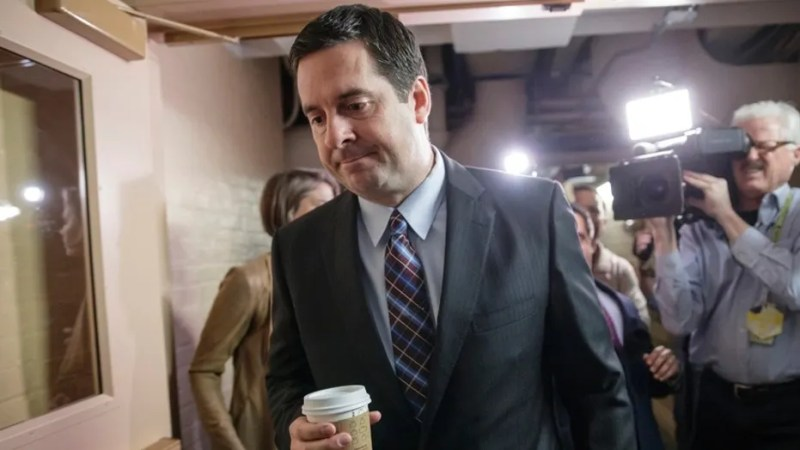 Rep. Devin Nunes, R-Calif., stepped away this past April from his role leading the House Intelligence committee's investigation into Russian actions during last year's election.