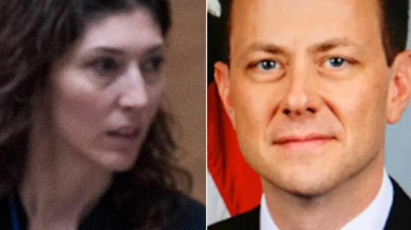 Image result for images for McCabe, Strzok and Page