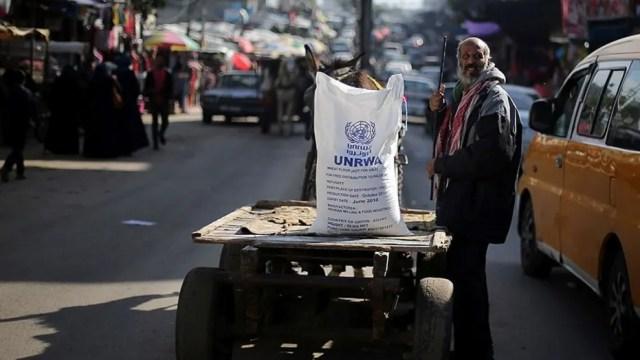 The U.S. announced Tuesday that it is withholding funds for a controversial Palestinian refugee agency.