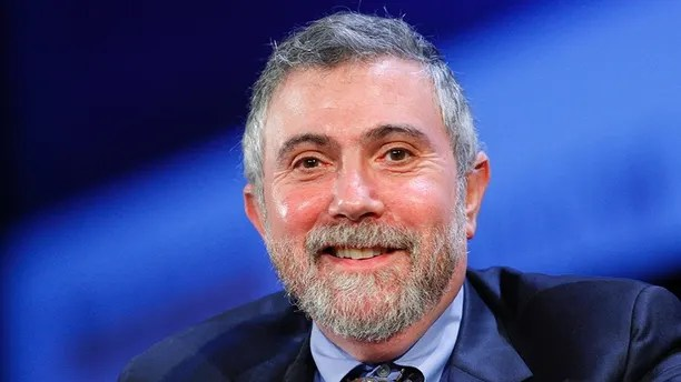Nobel Prize winning economist Paul Krugman smiles during the World Business Forum in New York October 7, 2009.   REUTERS/Chip East (UNITED STATES BUSINESS) - GM1E5A80ARB01