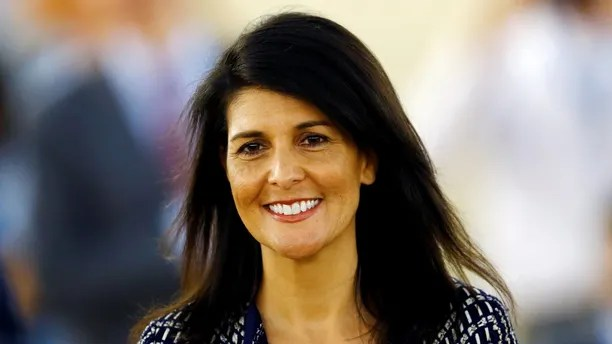 U.S. Ambassador to the United Nations Nikki Haley attends the United Nations Human Rights Council in Geneva, Switzerland June 6, 2017. REUTERS/Denis Balibouse - RC19D025AF80