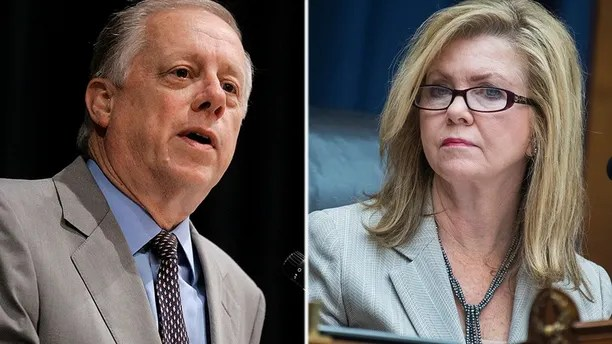 Former Gov. Phil Bredesen, front center, campaigns Wednesday, Aug. 1, 2018, in Memphis, Tenn., in his bid for U.S. Senate. Bredesen and Republican U.S. Rep. Marsha Blackburn face only nominal primary opposition in their race to replace retiring Republican Sen. Bob Corker. (AP Photo/Mark Humphrey)