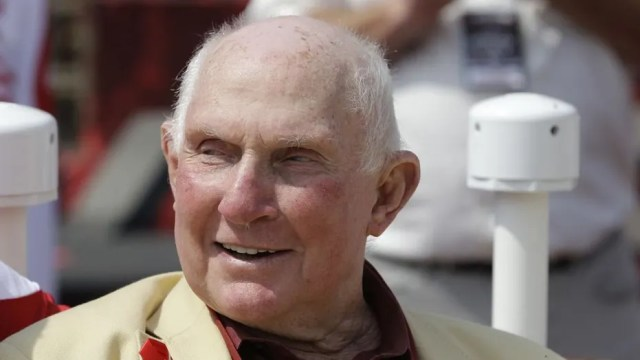 Y.A. Tittle died Sunday night at the age of 90.