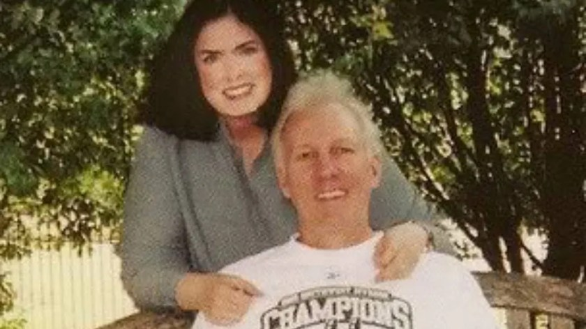 Gregg and Erin Popovich are seen in this undated photo.