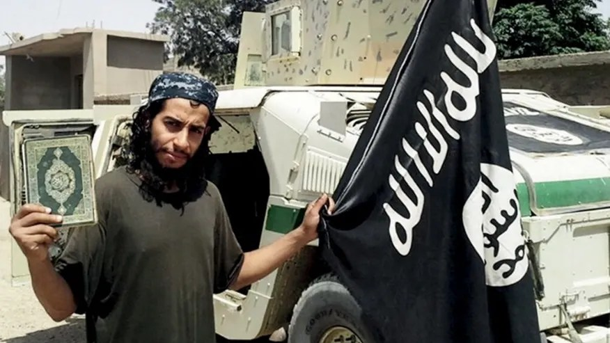 File photo: An undated photograph of a man described as Abdelhamid Abaaoud that was published in the Islamic State's online magazine Dabiq and posted on a social media website. (REUTERS/Social Media Website)
