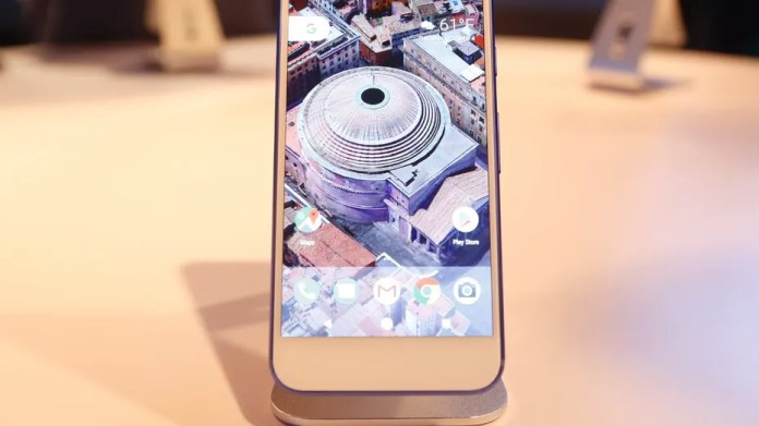 File photo: The Google Pixel phone is displayed during the presentation of new Google hardware in San Francisco, California, U.S. October 4, 2016. (REUTERS/Beck Diefenbach)