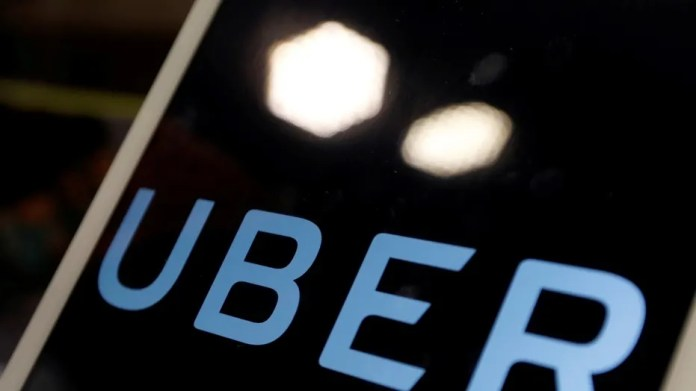 File photo: The Uber app for iOS has been given a unique privilege on the operating system which allows the app to spy on the iPhone's screen, a researcher has discovered.  (REUTERS/Tyrone Siu)