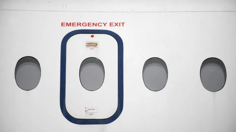 Dana Air has blamed passengers for one of the plane's emergency exist doors falling off during landing. All passengers have denied tampering with the door.