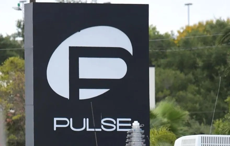 The investigation continues at Pulse nightclub in Orlando, Fla., Sunday , June 19, 2016. It's been one week since the Pulse shootings claimed 50 lives. (Joe Burbank/Orlando Sentinel via AP)