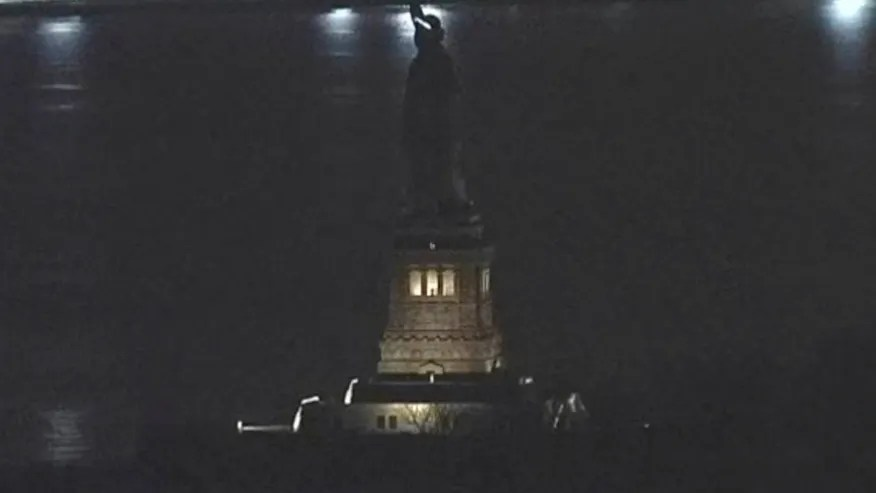 Image result for Statue of liberty dark