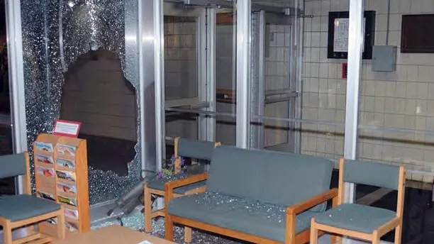 "This image contained in the ""Appendix to Report on the Shootings at Sandy Hook Elementary School and 36 Yogananda St., Newtown, Connecticut On December 14, 2012"" and released Monday, Nov. 25, 2013, by the Danbury, Conn., State's Attorney shows a scene inside the entrance to Sandy Hook Elementary School in Newtown, Conn. Adam Lanza opened fire inside the school killing 20 first-graders and six educators before killing himself as police arrived. (AP Photo/Office of the Connecticut State's Attorney Judicial District of Danbury)"