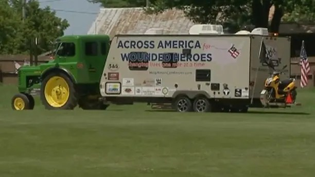 wounded vets tractor