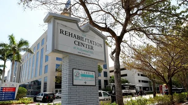 Image result for photos of hollywood hills rehabilitation center after irma