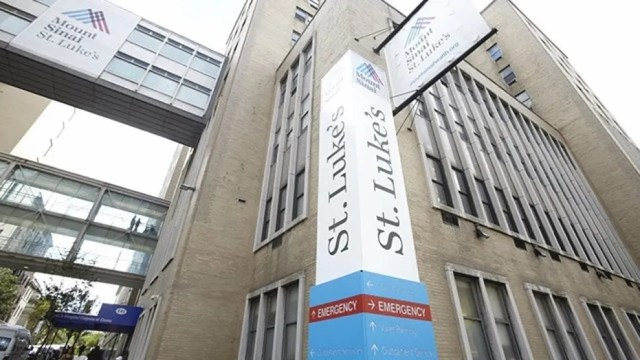 Mt. Sinai St. Luke's Hospital has been sued by a man whose HIV status was disclosed to his employer via fax.