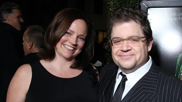 "Michelle Eileen McNamara and Patton Oswalt pose as Paramount Pictures presents the Los Angeles Premiere of ""Young Adult"" at the Academy of Motion Picture Arts & Sciences in Beverly Hills, CA on Thursday, December 15, 2011. (Alex J. Berliner/ABImages)  via AP Images"