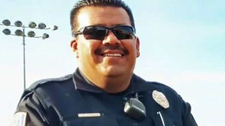 "Nogales Police Officer Jesus ""Chuy"" Cordova was killed Friday trying to pull over an armed carjacker."