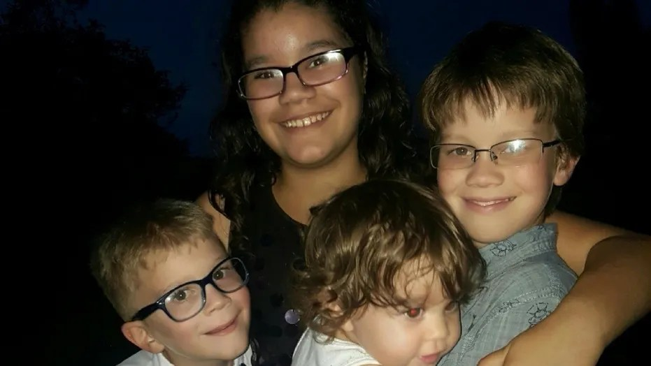 The children found dead Monday by police in Orlando, Fla.: Aidan Lindsey, 6; Lillia Pluth, 10; Dove Lindsey, 1; and Irayan Pluth, 11.