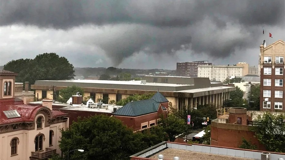 At least two tornadoes touched down in Virginia Monday as Florence — which has been downgraded to a post-tropical cyclone — continues to leave her mark along the eastern seaboard.