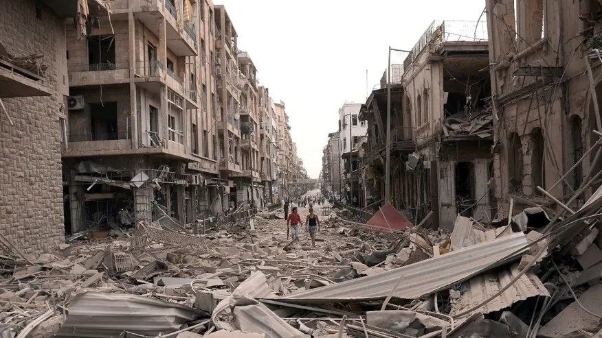 Image result for The Destruction of Aleppo, Syria