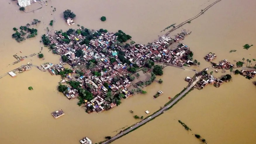 Image result for images of recent floods in india