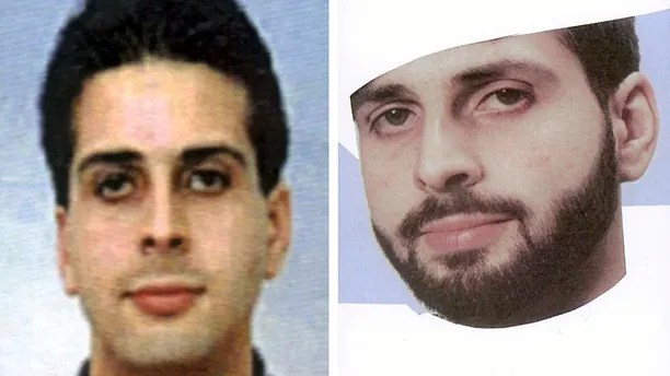 "FILE - These  undated handout photos, released by the German Federal Police in 2001  show Said Bahaji, with and without beard. Al-Qaida's leader has claimed in an online message that a German man believed to have provided logistical support to the Hamburg-based Sept. 11 hijackers has died. Ayman al-Zawahri listed several recent ""martyrs,"" including a man he identifies as of Zuhair al-Maghribi.  Al-Maghribi is the alias of Said Bahaji who is believed to have helped suicide hijackers Mohamad Atta, Marwan al-Shehhi and Ziad Jarrah when they were in Hamburg. Underneath the photos the date of birth. (AP Photo/Federal Police  via AP)"